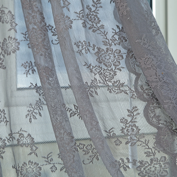 UK-Floral-Lace-Net-Curtains-Voile-Window-Panel-Drape-Valances-Door-Divider-Decor